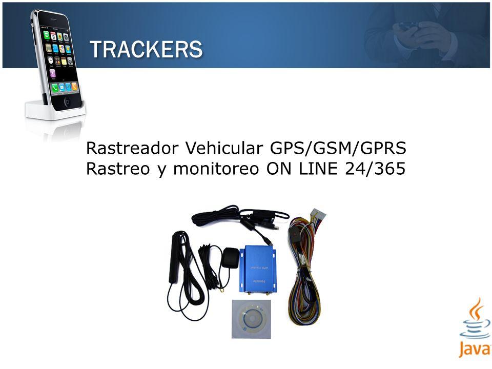 TRACKERS Rastreador Vehicular GPS/GSM/GPRS Rastreo y monitoreo ON LINE 24/365