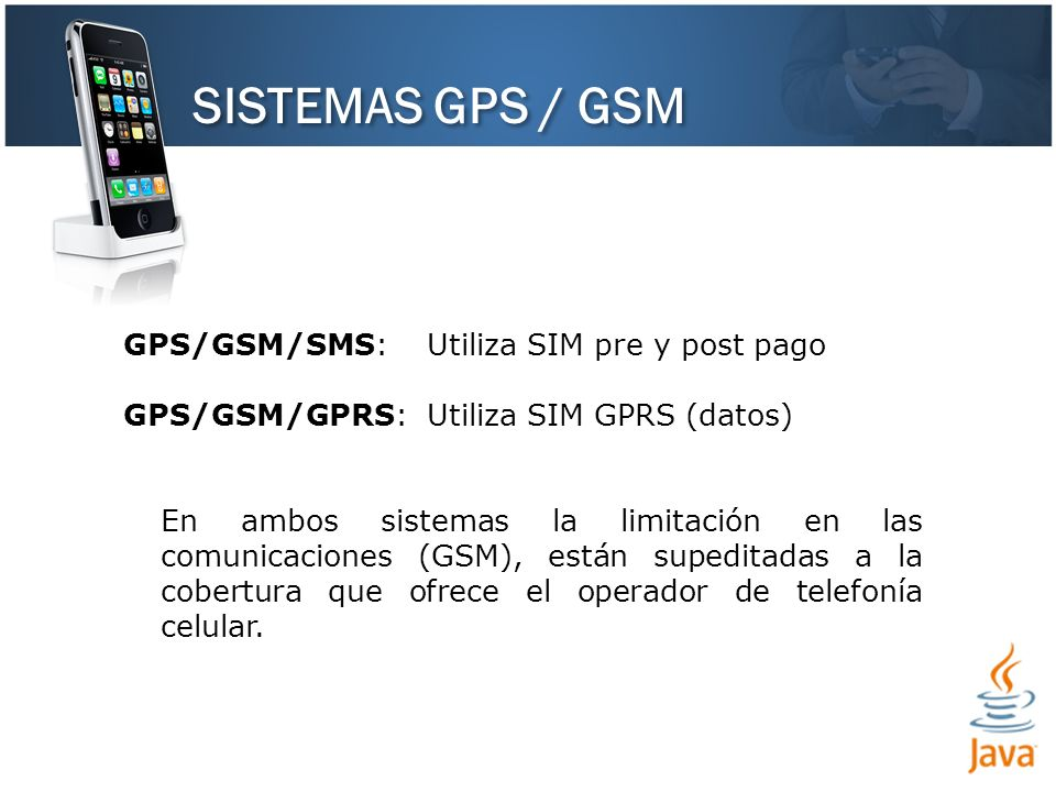SISTEMAS GPS / GSM