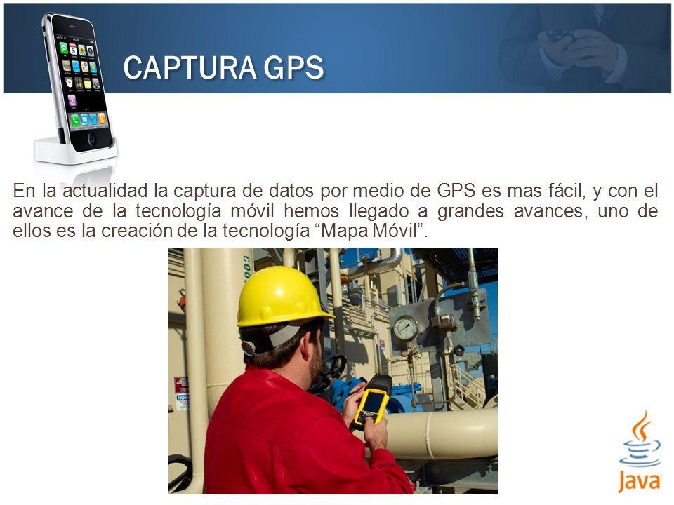 CAPTURA GPS