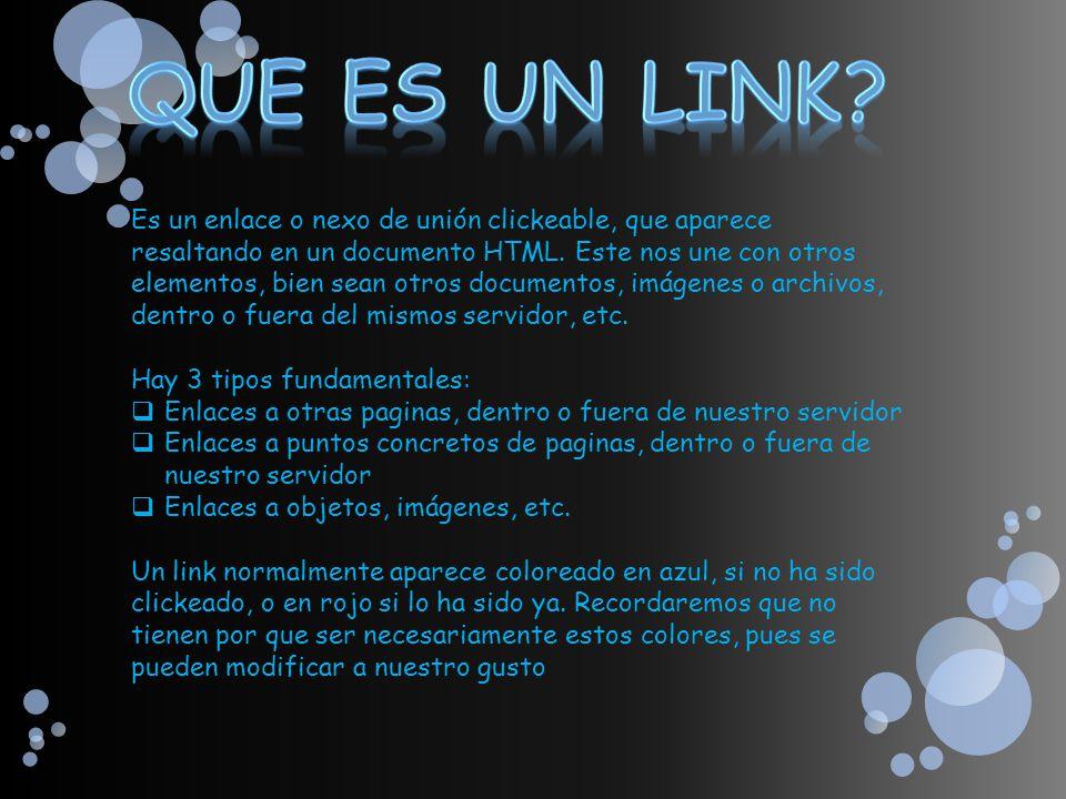 Que es un Link