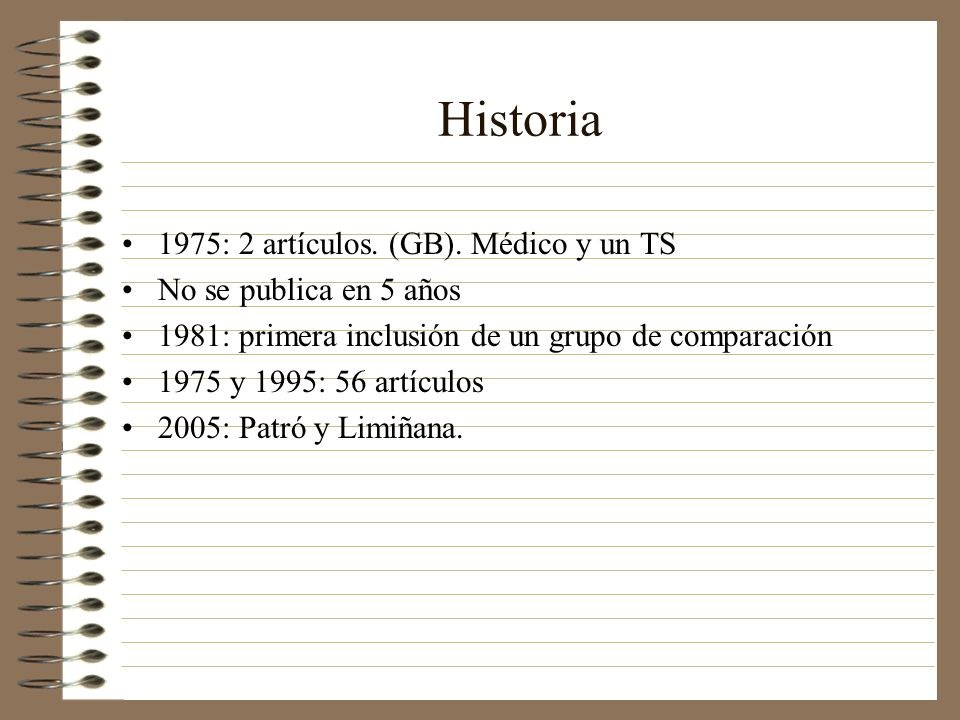 Historia 1975: 2 artículos. (GB). Médico y un TS