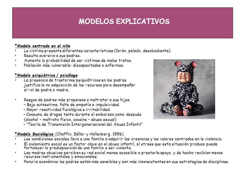 MODELOS EXPLICATIVOS *Modelo centrado en el niño