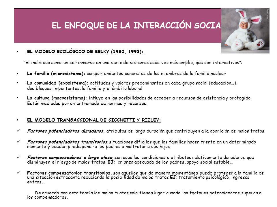 EL ENFOQUE DE LA INTERACCIÓN SOCIAL