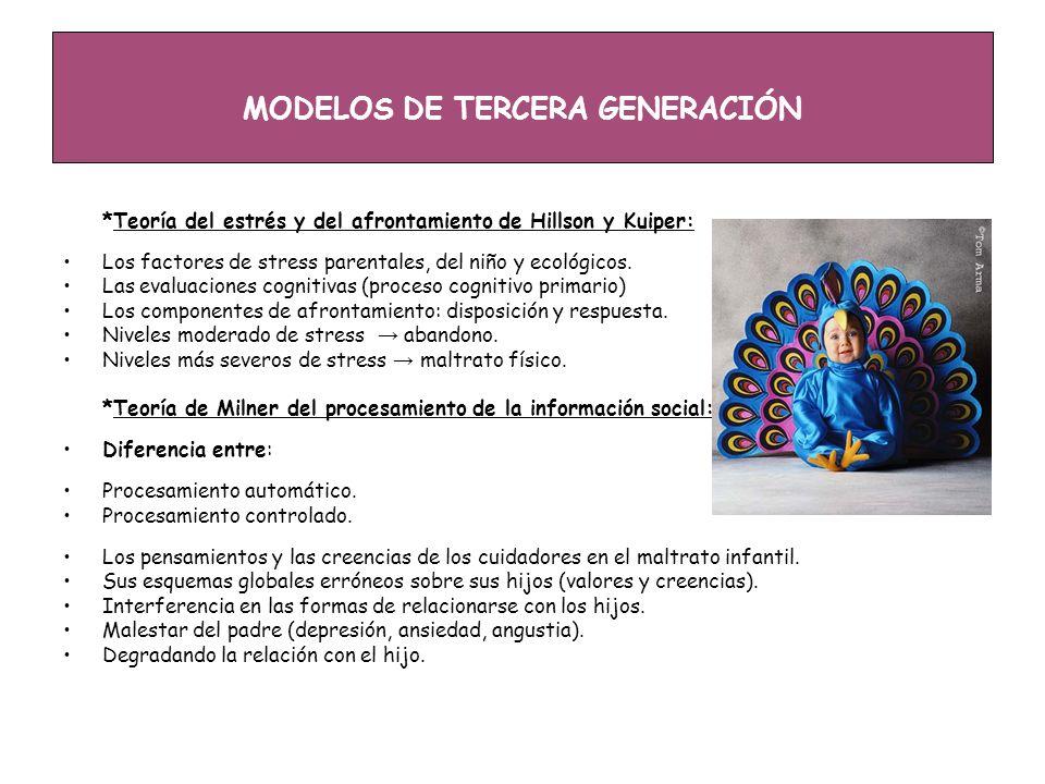 MODELOS DE TERCERA GENERACIÓN