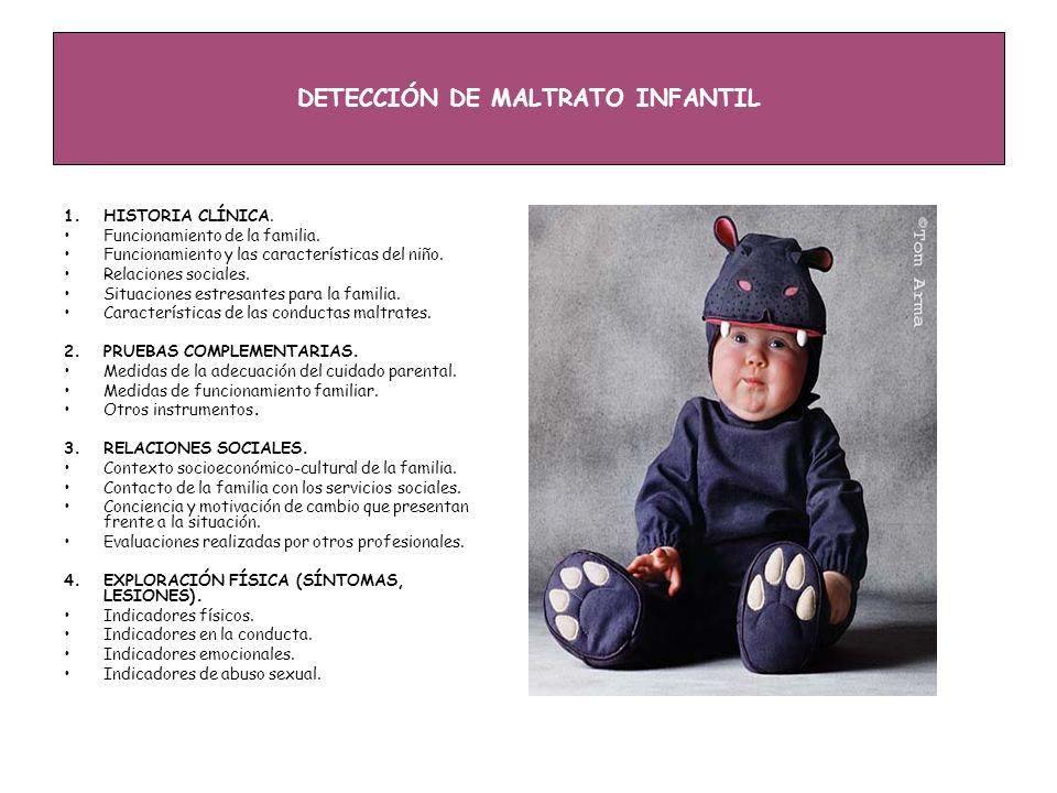 DETECCIÓN DE MALTRATO INFANTIL