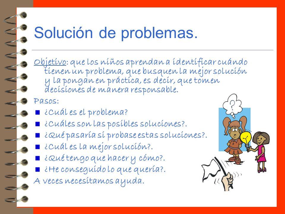 Solución de problemas.