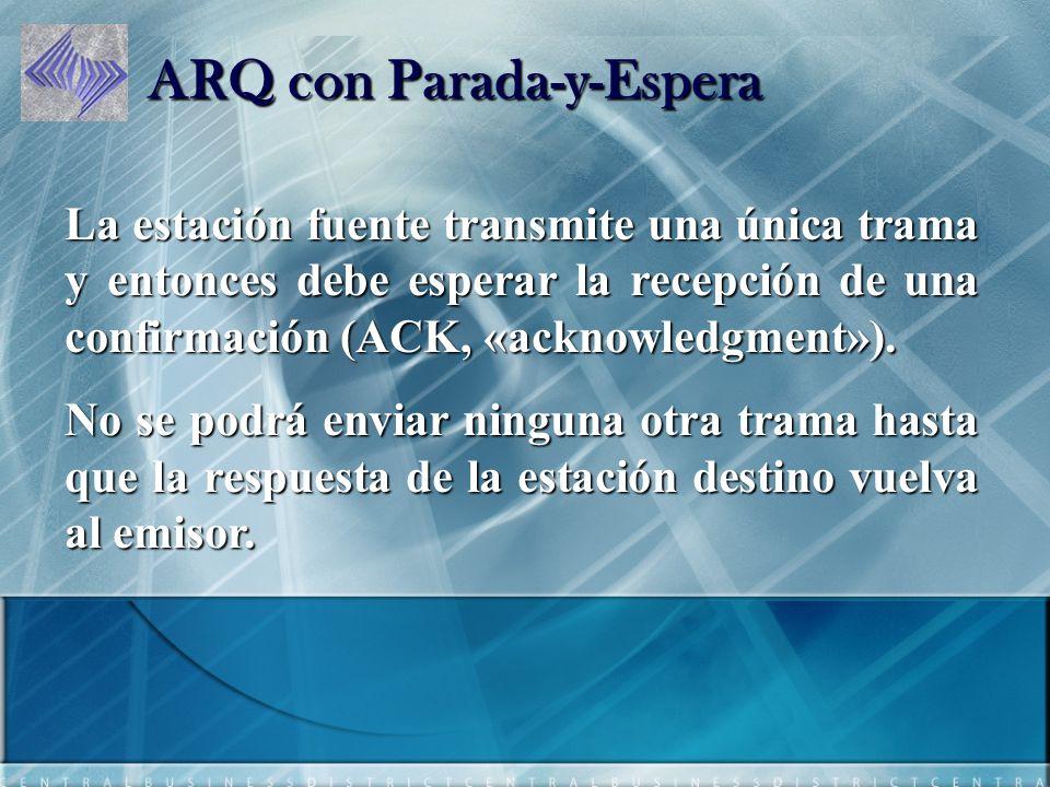 ARQ con Parada-y-Espera