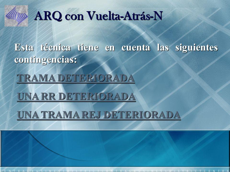 ARQ con Vuelta-Atrás-N