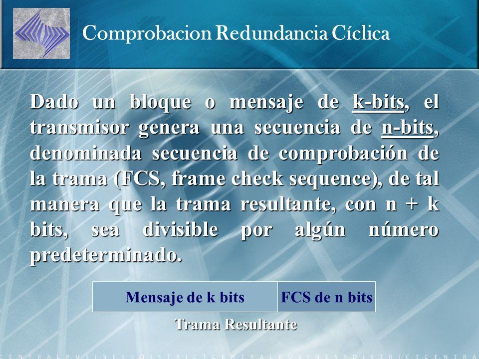 Comprobacion Redundancia Cíclica