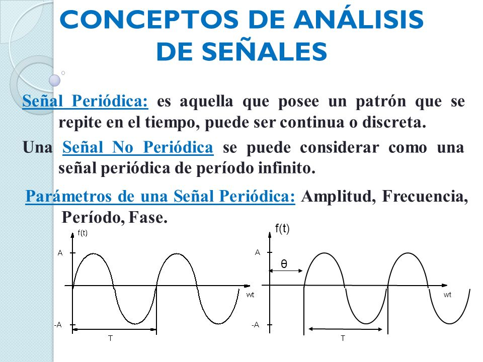Conceptos de Análisis de señales