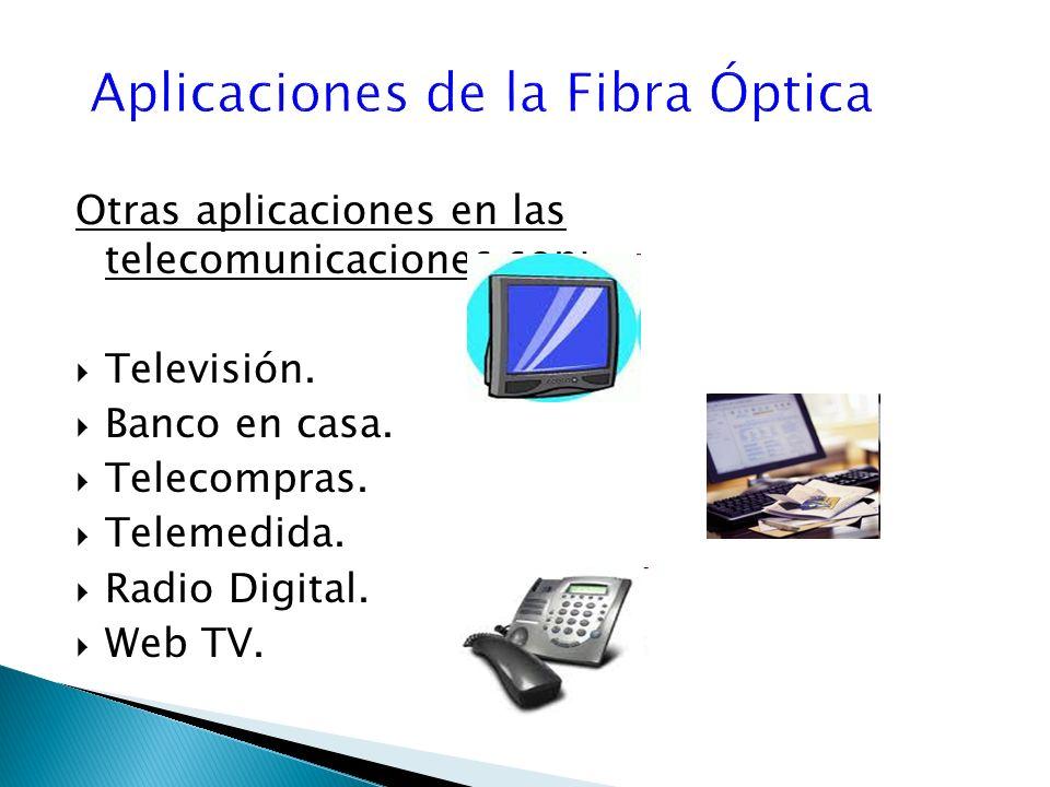 Aplicaciones de la Fibra Óptica