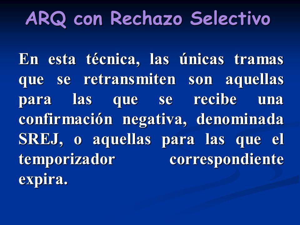 ARQ con Rechazo Selectivo