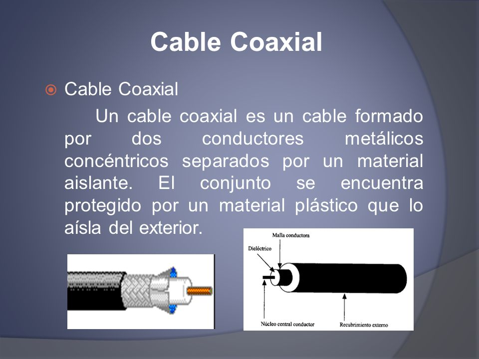 Cable Coaxial Cable Coaxial