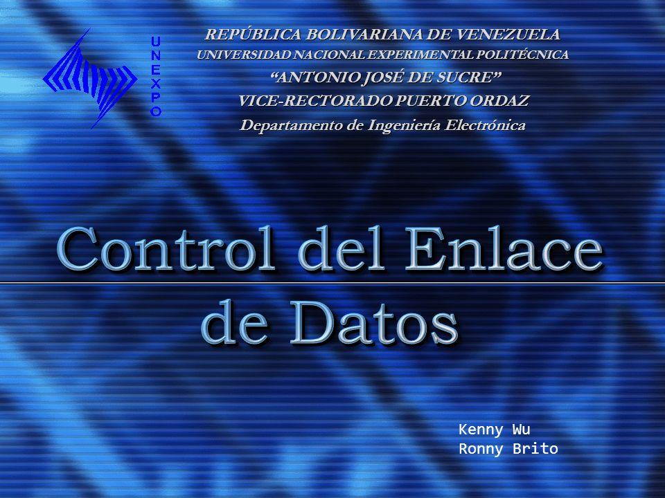 Control del Enlace de Datos