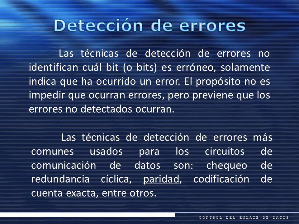 Detección de errores