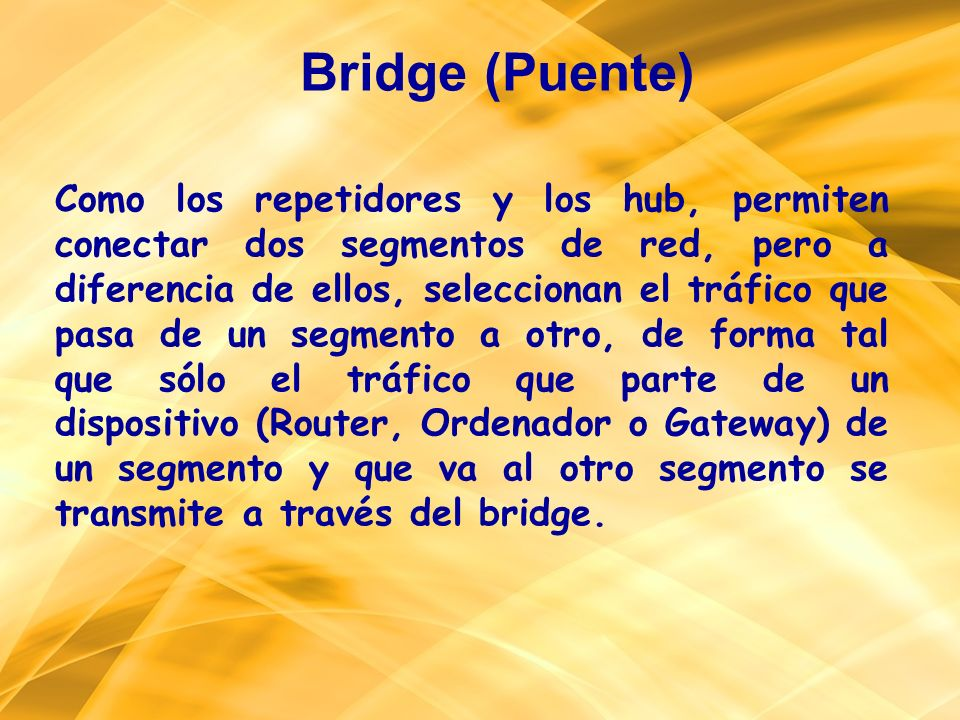 Bridge (Puente)