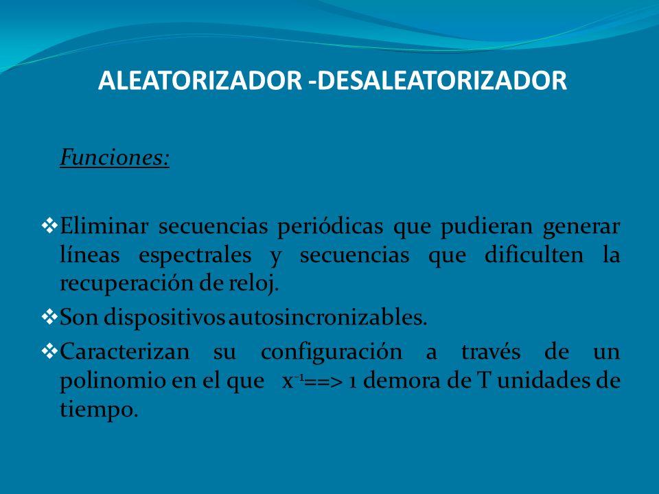 ALEATORIZADOR -DESALEATORIZADOR