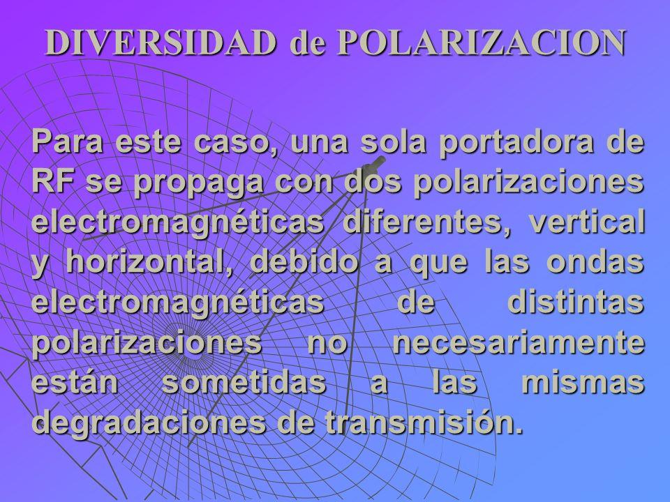 DIVERSIDAD de POLARIZACION