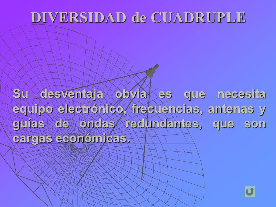 DIVERSIDAD de CUADRUPLE