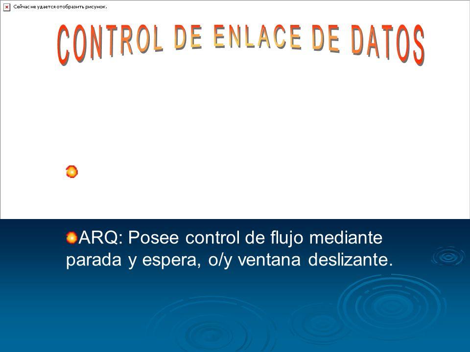CONTROL DE ENLACE DE DATOS