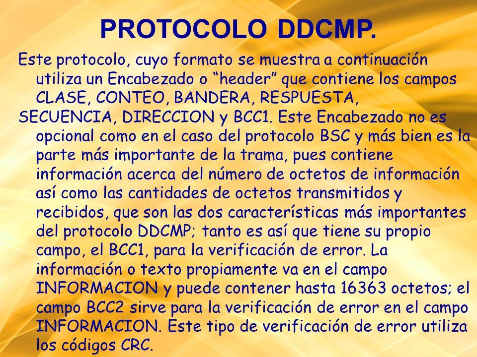 PROTOCOLO DDCMP.