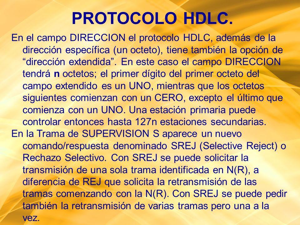 PROTOCOLO HDLC.
