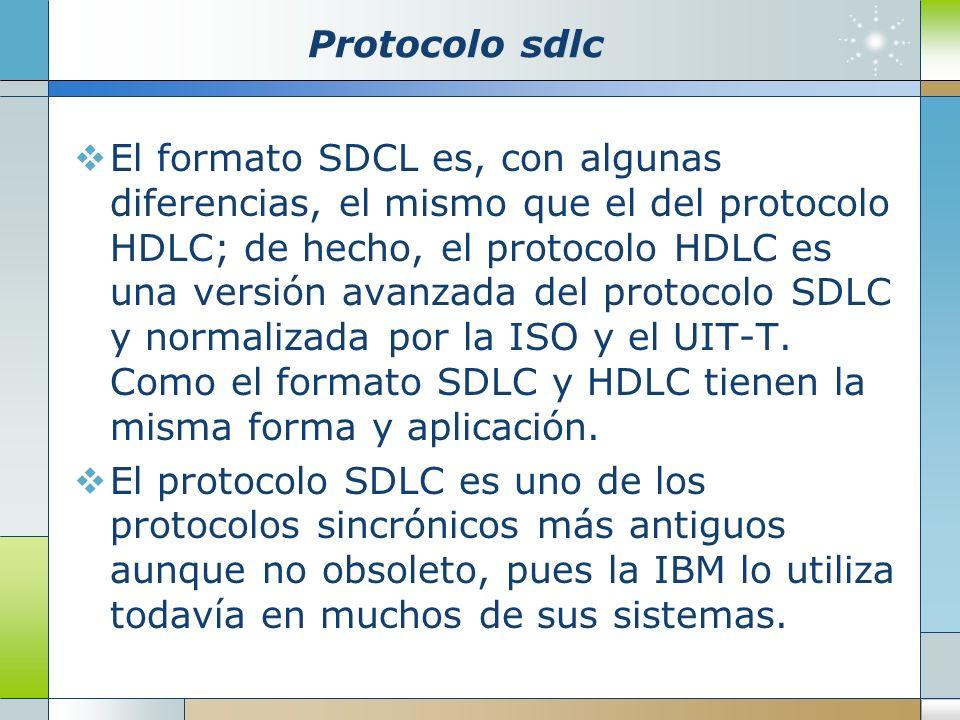 Protocolo sdlc