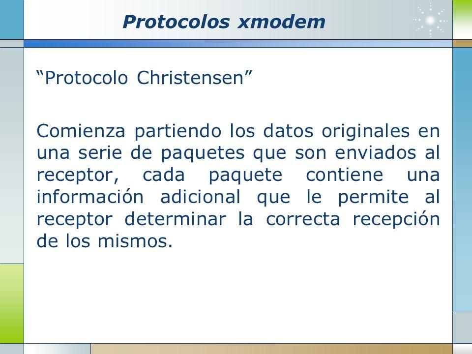 Protocolos xmodem