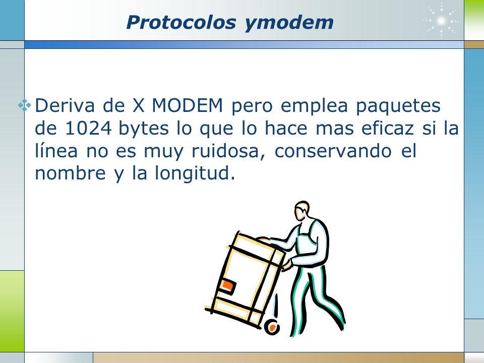 Protocolos ymodem