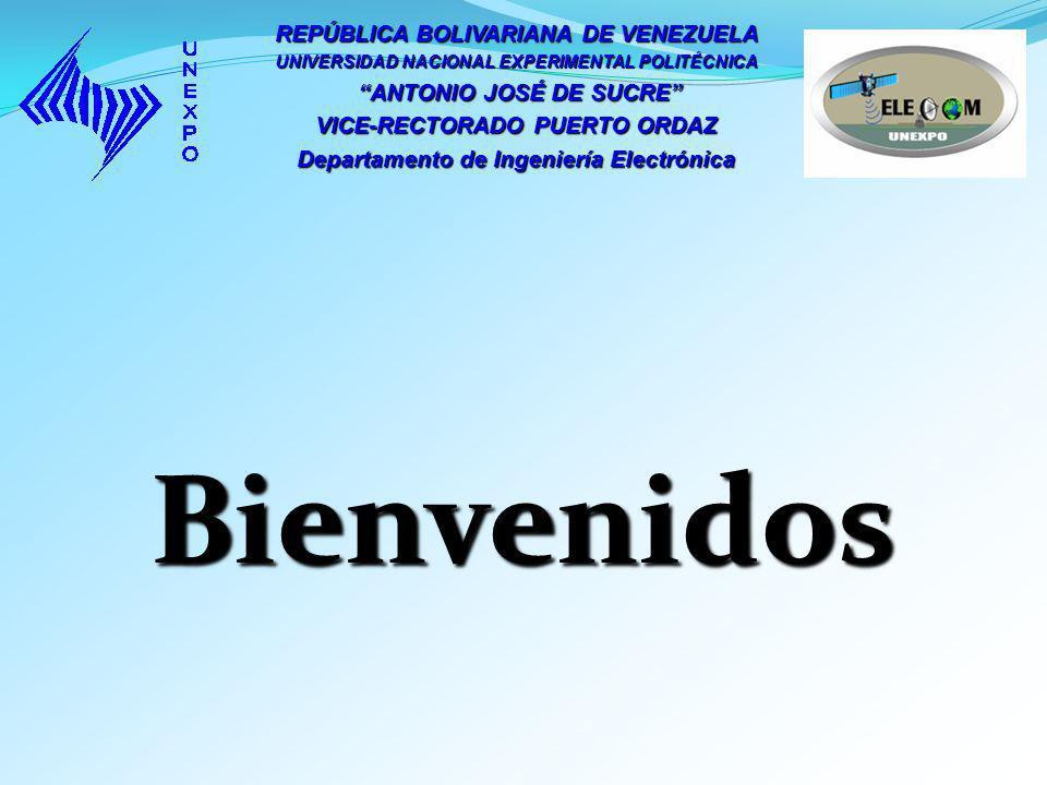 Bienvenidos REPÚBLICA BOLIVARIANA DE VENEZUELA ANTONIO JOSÉ DE SUCRE
