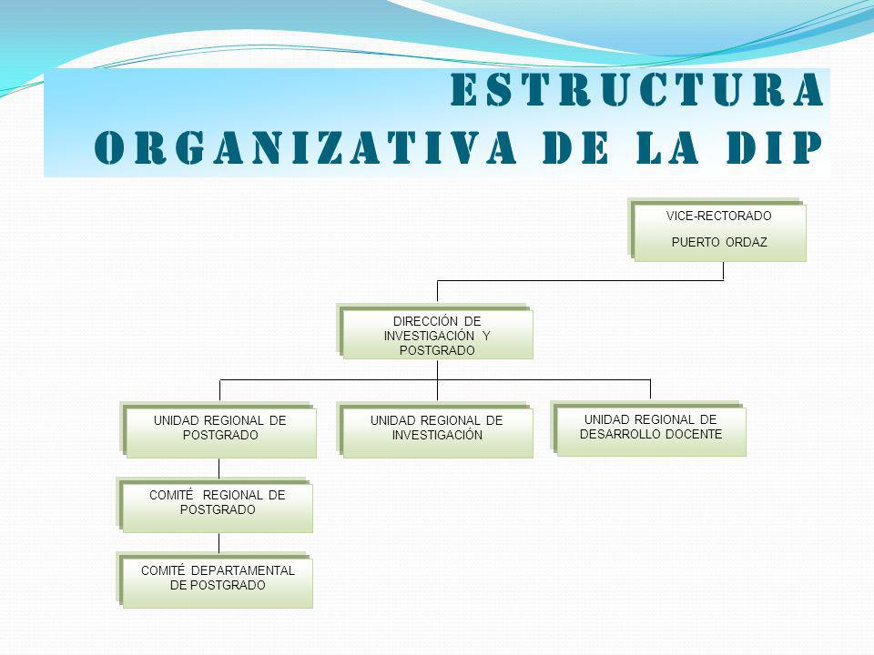 Estructura organizativa de la dip