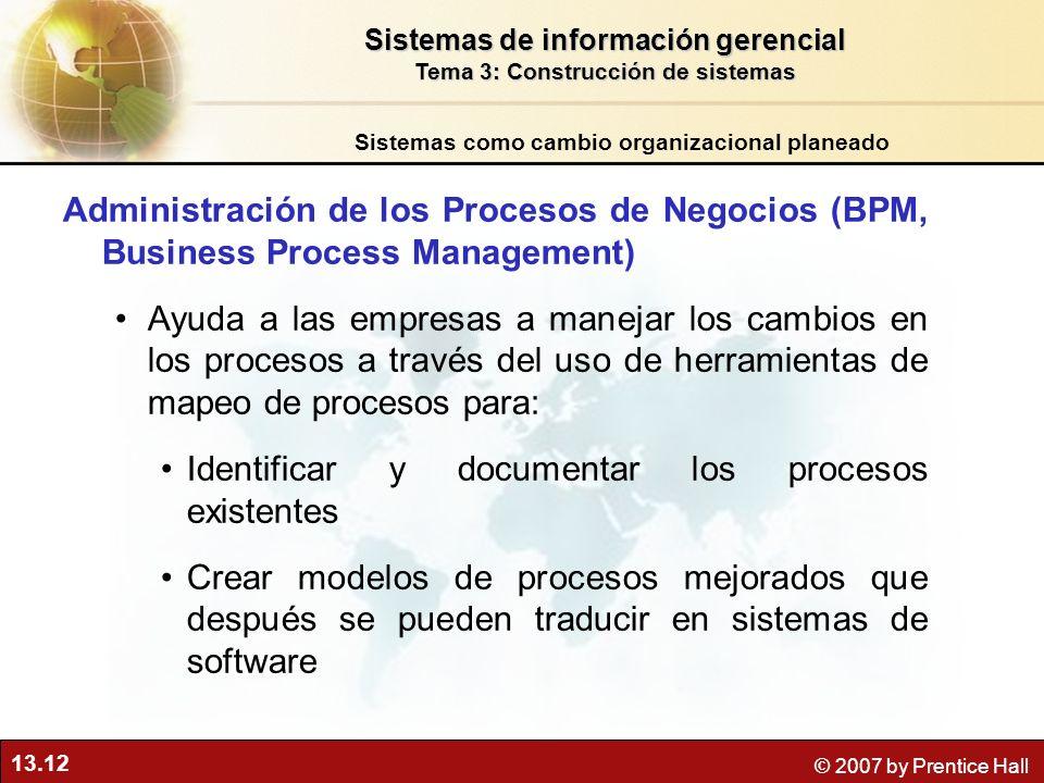 Identificar y documentar los procesos existentes