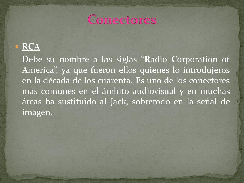 ConectoresRCA.