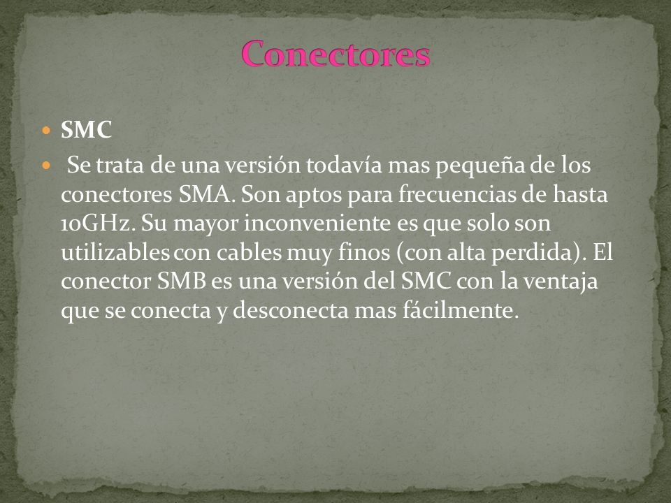 ConectoresSMC.