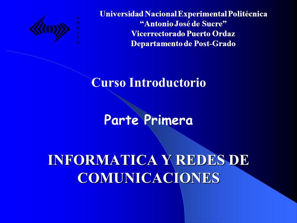 INFORMATICA Y REDES DE COMUNICACIONES