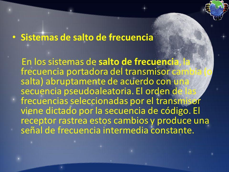 Sistemas de salto de frecuencia