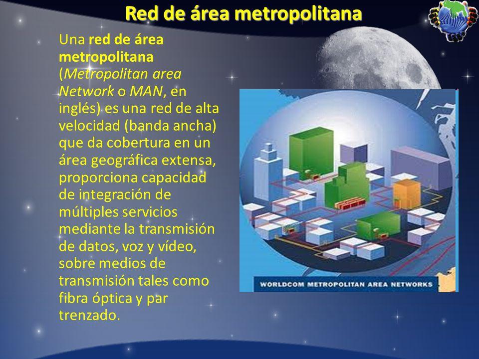 Red de área metropolitana