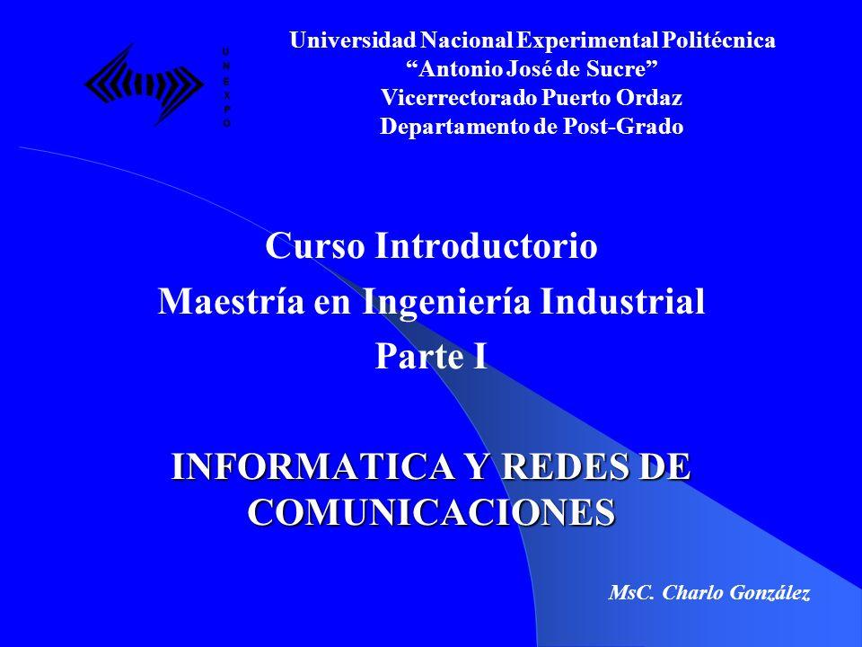 Maestría en Ingeniería Industrial Parte I