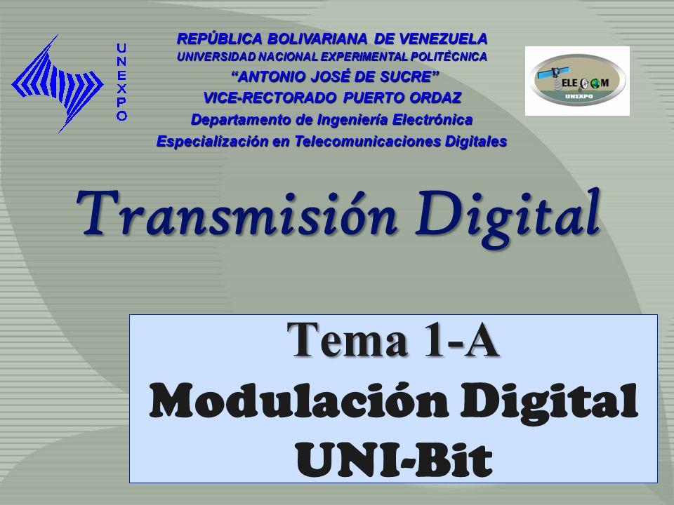 Tema 1-A Modulación Digital UNI-Bit