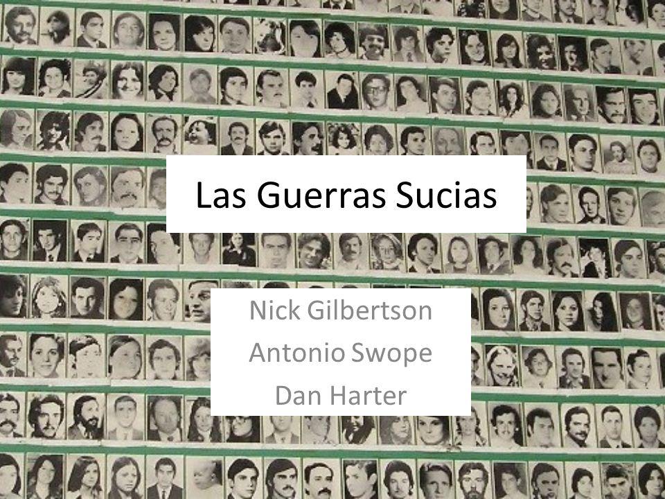 Nick Gilbertson Antonio Swope Dan Harter