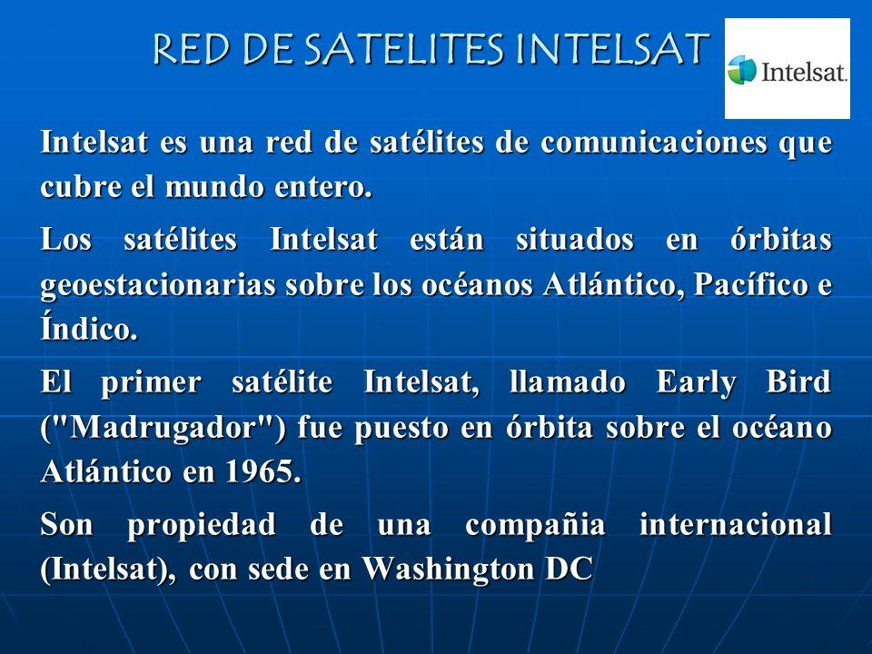 RED DE SATELITES INTELSAT