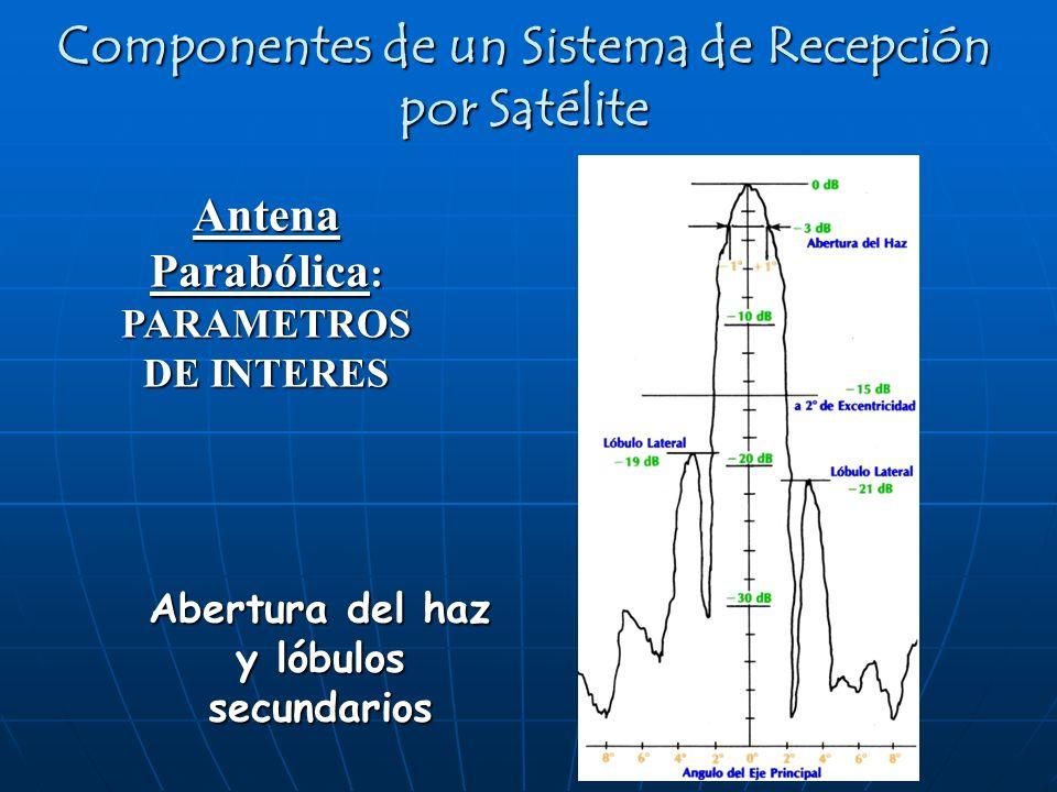 Componentes de un Sistema de Recepción por Satélite