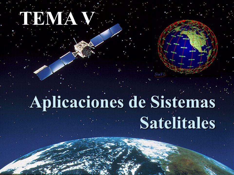 Aplicaciones de Sistemas Satelitales