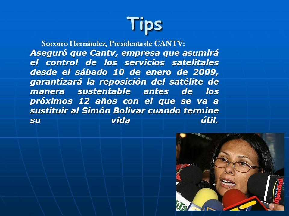 Socorro Hernández, Presidenta de CANTV: