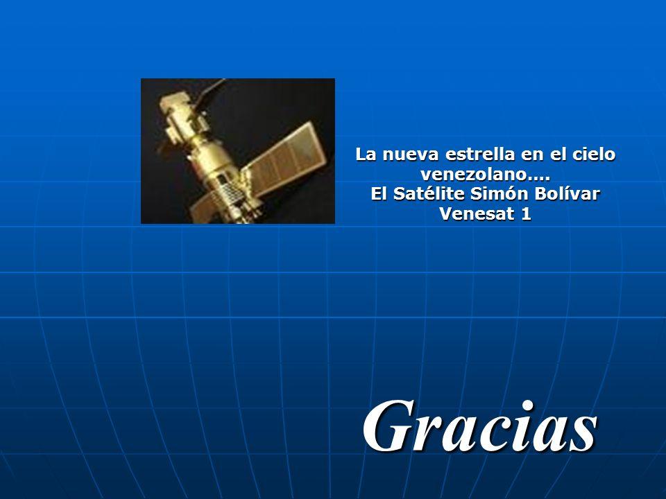 La nueva estrella en el cielo venezolano…. El Satélite Simón Bolívar