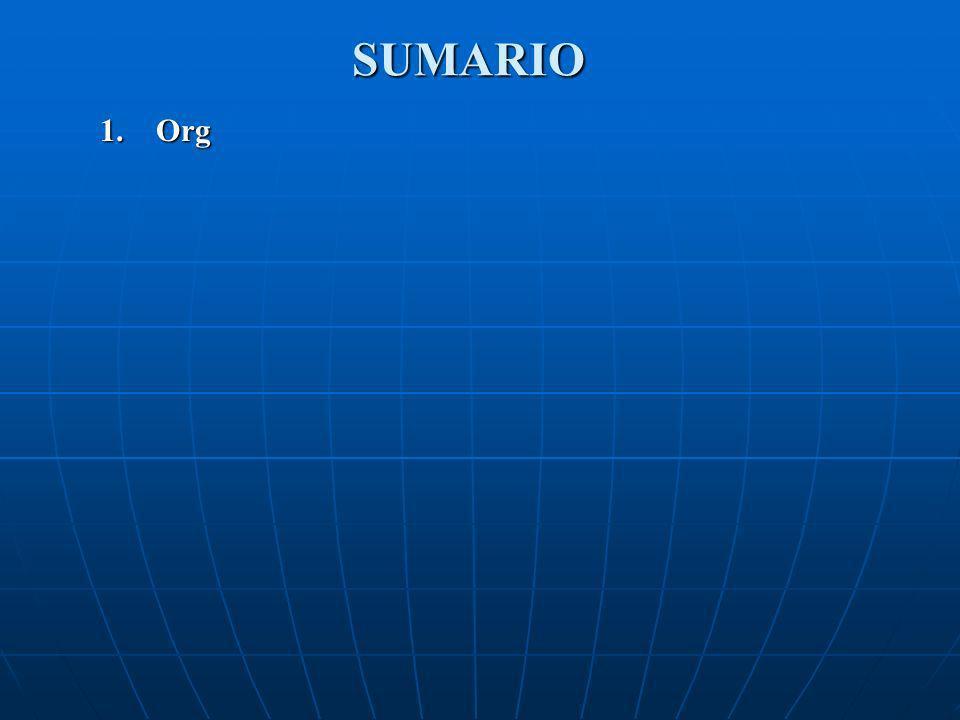 SUMARIO Org