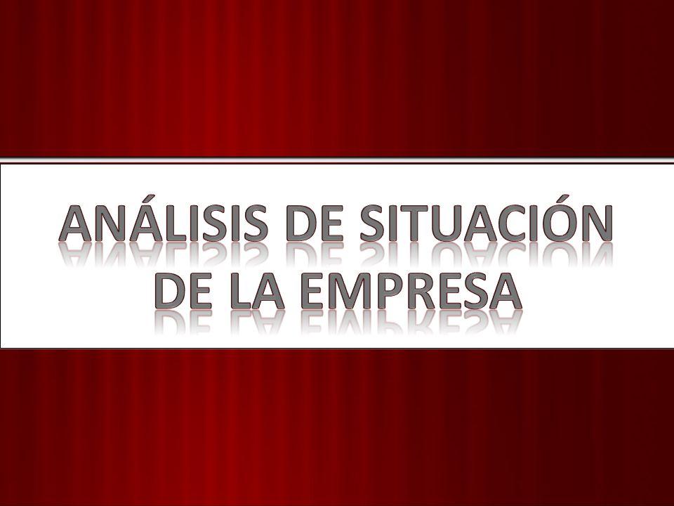 ANÁLISIS DE SITUACIÓN DE LA EMPRESA