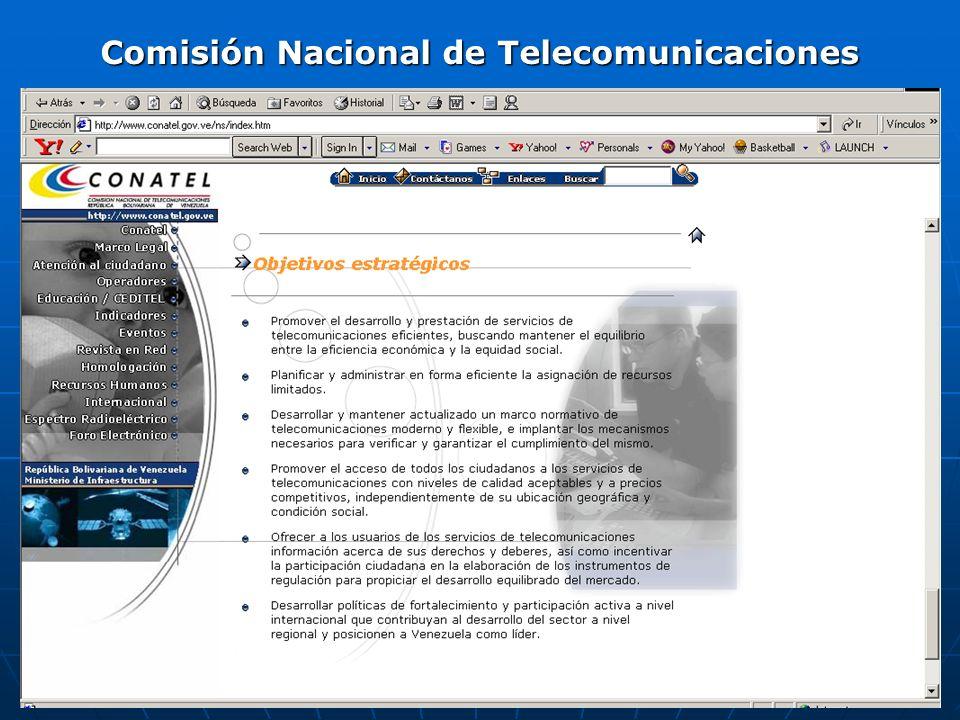 Comisión Nacional de Telecomunicaciones