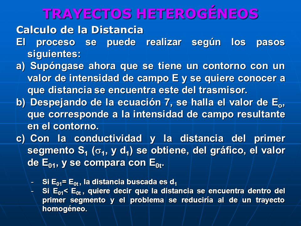 TRAYECTOS HETEROGÉNEOS