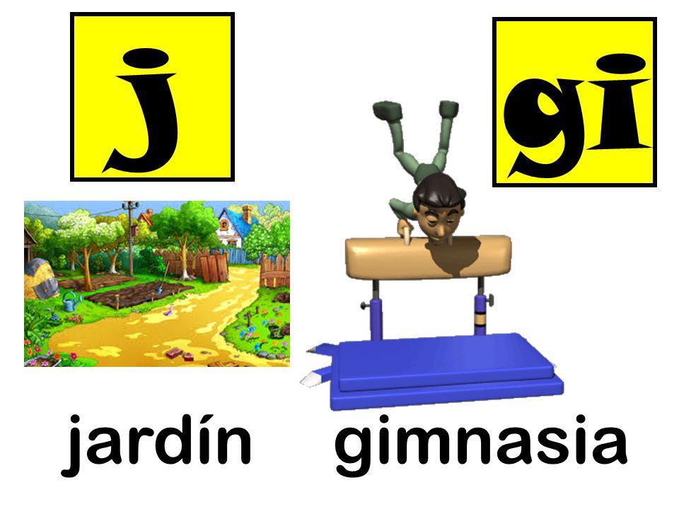 j gi jardín gimnasia